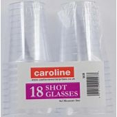 Shot Glasses (pack quantity 18)