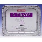  Large Foil Tray (pack&nbsp;quantity&nbsp;2) 