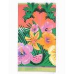 Luau Party Plastic Tablecover