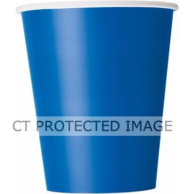 Royal Blue 9oz Cups (pack&nbsp;quantity&nbsp;14) 