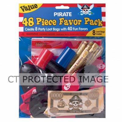 48pc Pirate Favor Pack