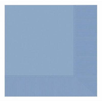 2ply Powder Blue 33cm Napkins (pack quantity 50)