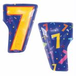 Number 7 18 Inch Foil Balloon