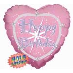 Happy Birthday Groovy 18 Inch Foil Balloon