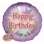 Birthday Stellar Fun 18 Inch Foil Balloon