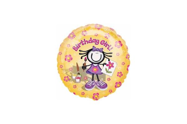P/happy Happy Birthday 18 Inch Foil Balloon