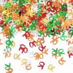 70th Birthday Assorted Metallic Confetti