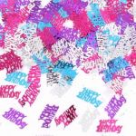 Happy Birthday Assorted Metallic Confetti