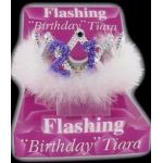 21st Birthday Flashing Tiara