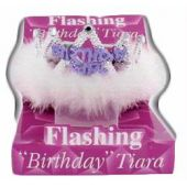 Birthday Girl Flashing Tiara