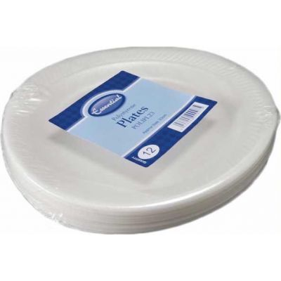  23cm Poly Plates (pack&nbsp;quantity&nbsp;12) 
