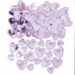 Candy Hearts Metallic Confetti