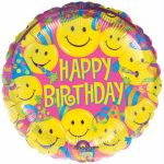 Smiles 18 Inch Foil Balloon