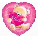 Love You Mum 18 Inch Foil Balloon