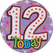 12 Today Big Badge