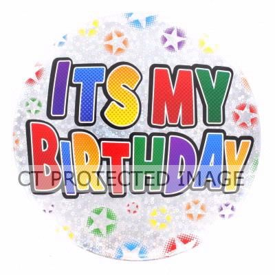 Its My Birthday Big Badge