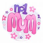 Best Mum Big Badge