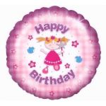 Birthday Fairy 18 Inch Foil Balloon