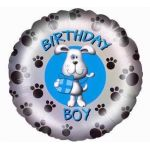 Birthday Dog 18 Inch Foil Balloon