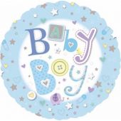 Baby Boy 18 Inch Foil Balloon
