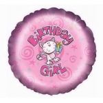 Birthday Girl 18 Inch Foil Balloon