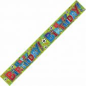 Birthday Boy Sparkle 9ft Banner