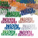 Birthday Multi Foil Confetti