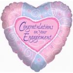 Engagement 18 Inch Foil Balloon