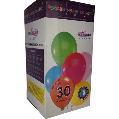 Disposable Balloon Gas Kit 30ct