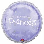 Birthday Princess 18 Inch Foil Balloon
