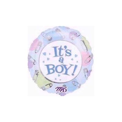 Its A Boy Jumbo Foil Balloon