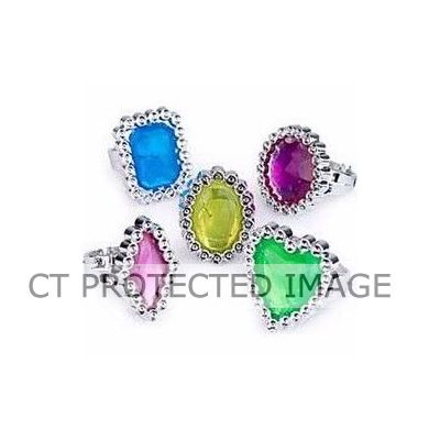 Gem Rings (pack quantity 24)