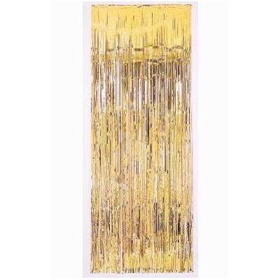 91.5x241cm Gold Door Curtain