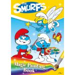 The Smurfs Magic Painting Book