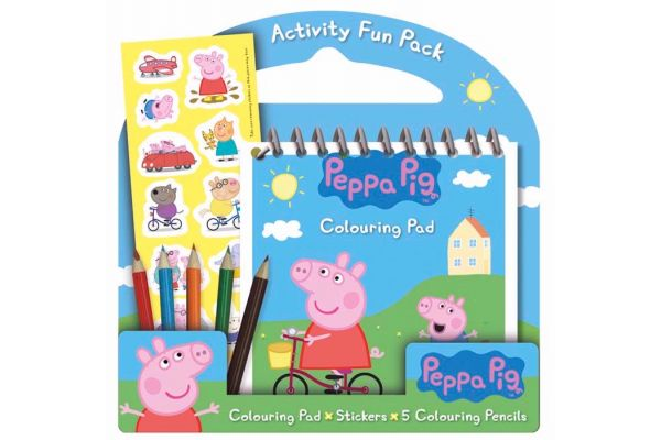 Peppa Pig Activity Fun Pack
