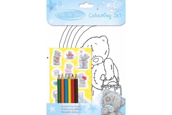 Me To You Colouring Set