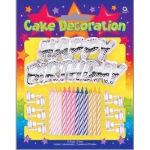 Birthday Cake Candle Set