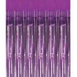 Purple Door Curtain