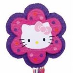 Hello Kitty Flower Pinata