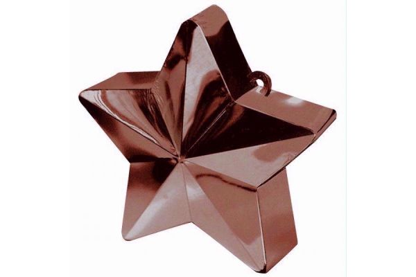 Chocolate Star Balloon Weight