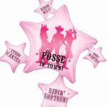 Hen Night Party Posse Super Shaped Foil Balloon