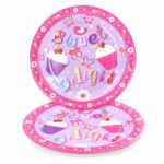  9 Inch Cupcake Plates (pack&nbsp;quantity&nbsp;8) 