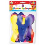 Novelty Mouse Balloons (pack quantity 8)