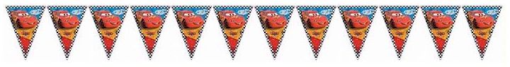 Cars Rsn Pennant Banner