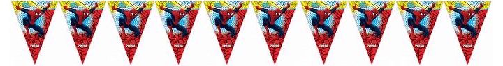 Ultimate Spiderman Pennant Banner