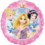 Princesses Portrait 18 Inch Foil