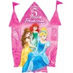 Princess 5th Birthday Super Shaped Foil Balloon