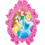 Princesses Frame Super Shaped Foil Balloon