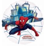 Spiderman 26 Inch See Thro Super Shaped Foil Balloon