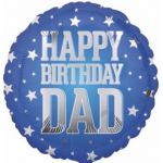Super Star Dad Birthday 18 Inch Foil